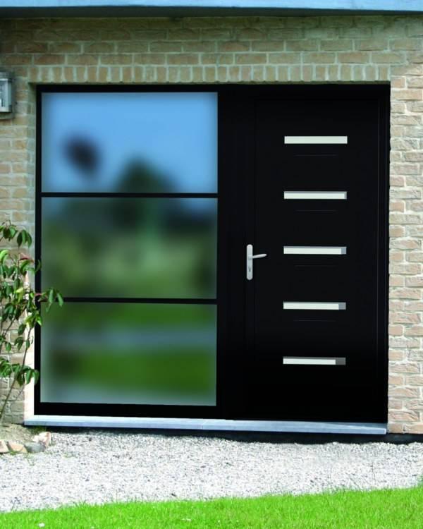 Pose De Porte D Entrée Aluminium Martigues Et BouchesduRhône - Double porte d entrée